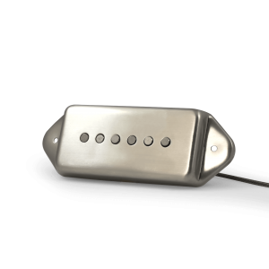 Fralin Alnico Rod P90 with Raw Nickel Dogear Cover