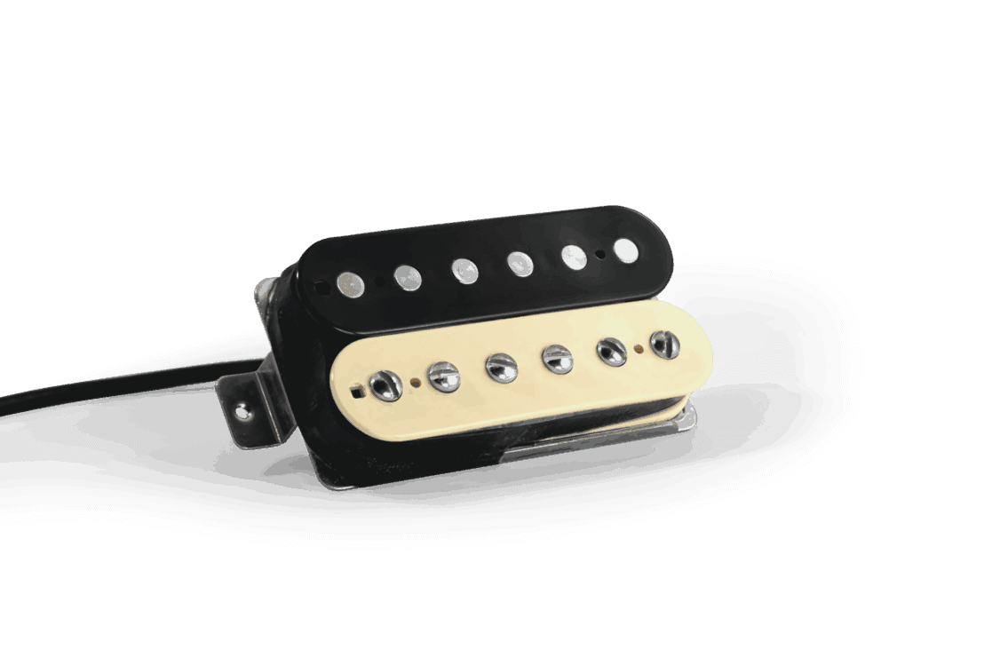 Lindy Fralin Pure P.A.F Humbucker Pickup Gibson Set Black Bobbins