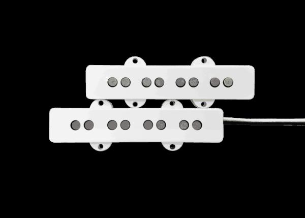 Fralin Pickups J-Bass White