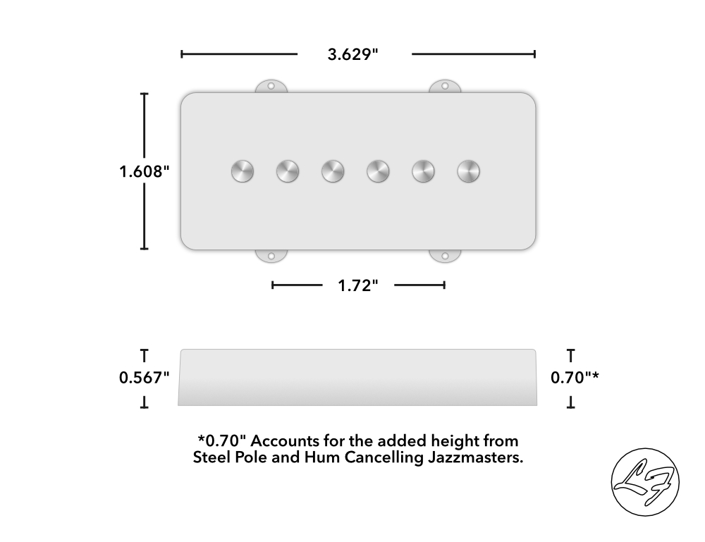 Jazzmaster Dimensions