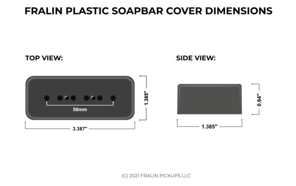 Soapbar Dimensions For Fralin Pickups