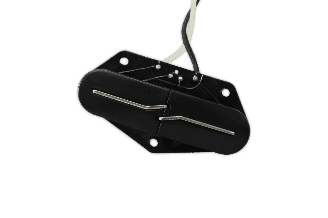 Split Blade Telecaster Bridge Black