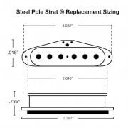 Steel Pole Strat Sizing and Dimensions