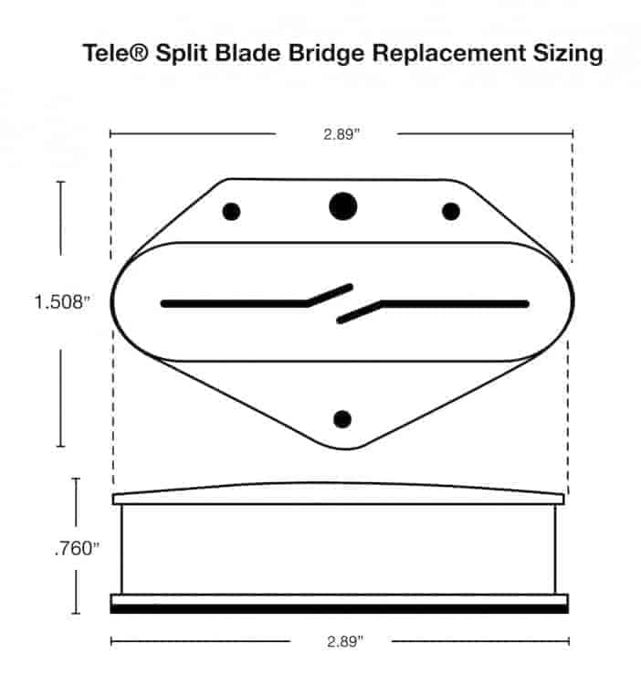 Split Blades - Tele on