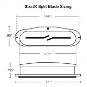 Split Blade Dimensions and Sizing