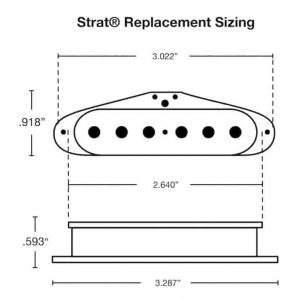 Strat Sizing and Dimensions