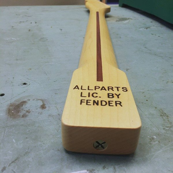 Fralin Telecaster Neck