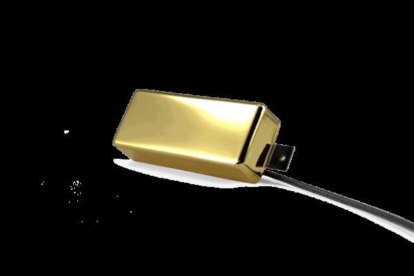 Fralin Pickups Gold Mini Humbucker Cover