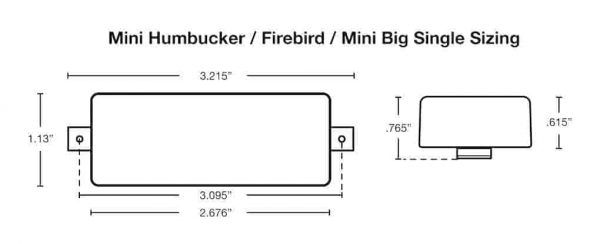 Mini Humbucker Dimensions