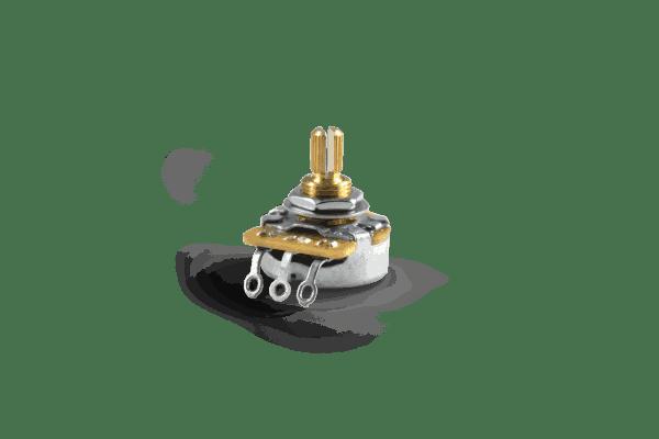 "CTS 500K Split Shaft Audio Taper Pot With Hardware, 1/4"" Shaft"