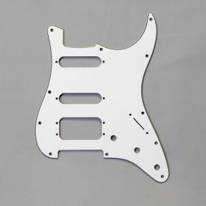 Fralin Pickguard - White