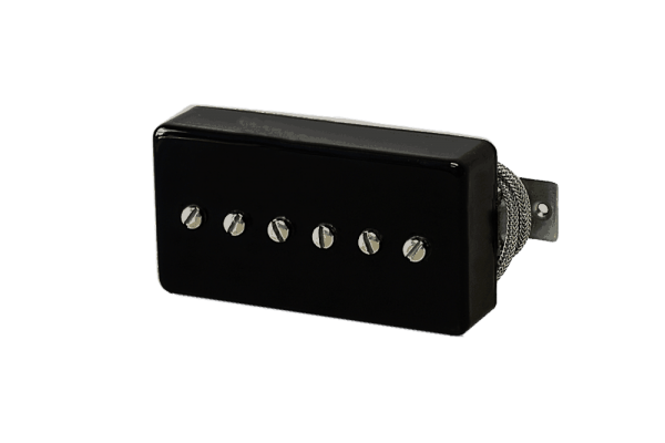 Lindy Fralin P-90 In A Black Humbucker Cover