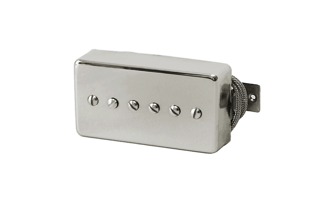Lindy Fralin P-90 In A Nickel Humbucker Cover