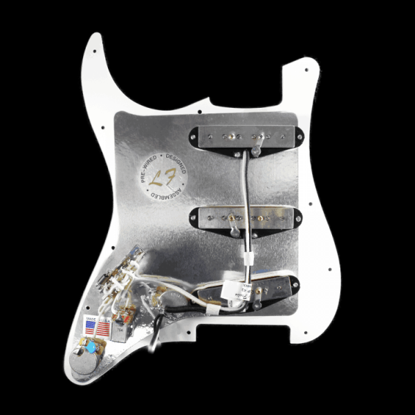 Lindy Fralin Completed Wired Pickguard
