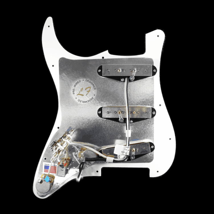 Lindy Fralin Customizable Prewired Pickguard For Stratocaster U00ae