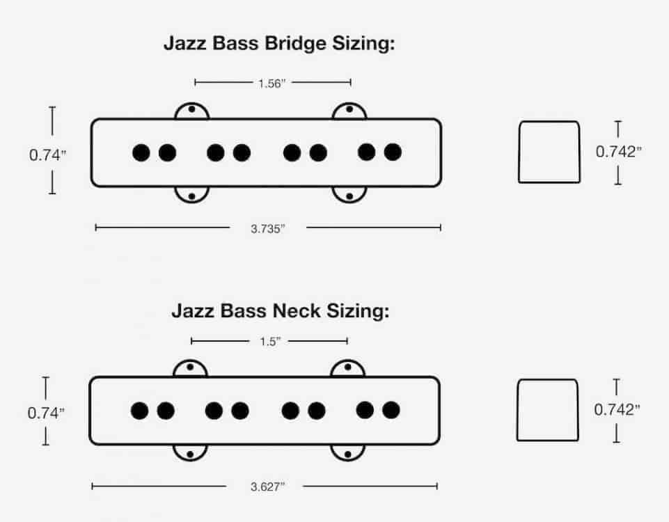 60'S Jazz Bass Wiring Diagram from www.fralinpickups.com