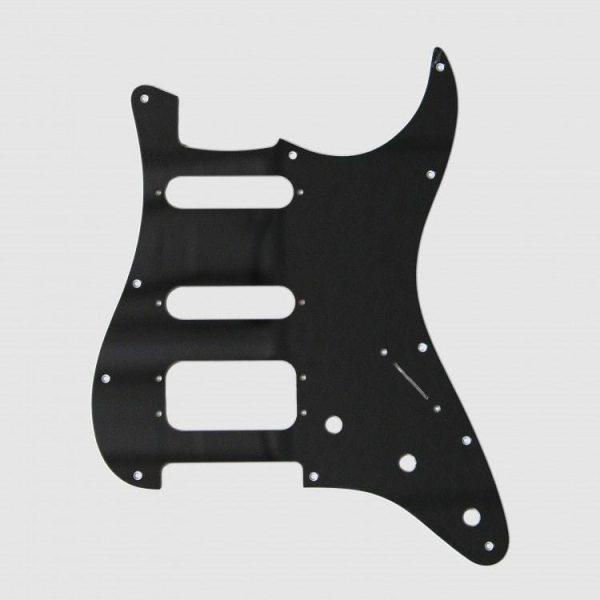 Fralin 4 Split Blade Pickguard Black