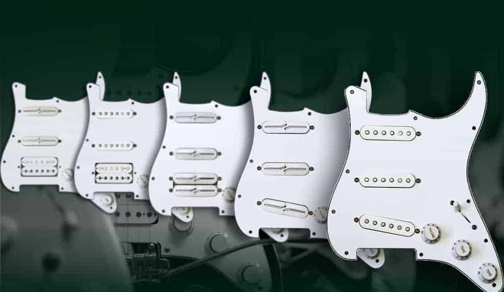 Fralin Preloaded Pickguards