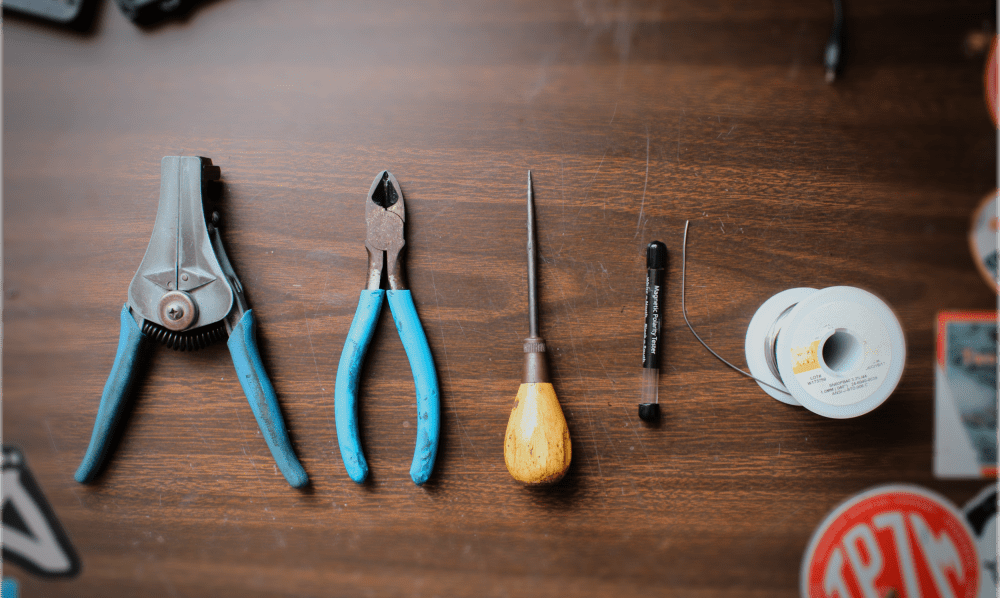 Lindy Fralin's Luthier Tools