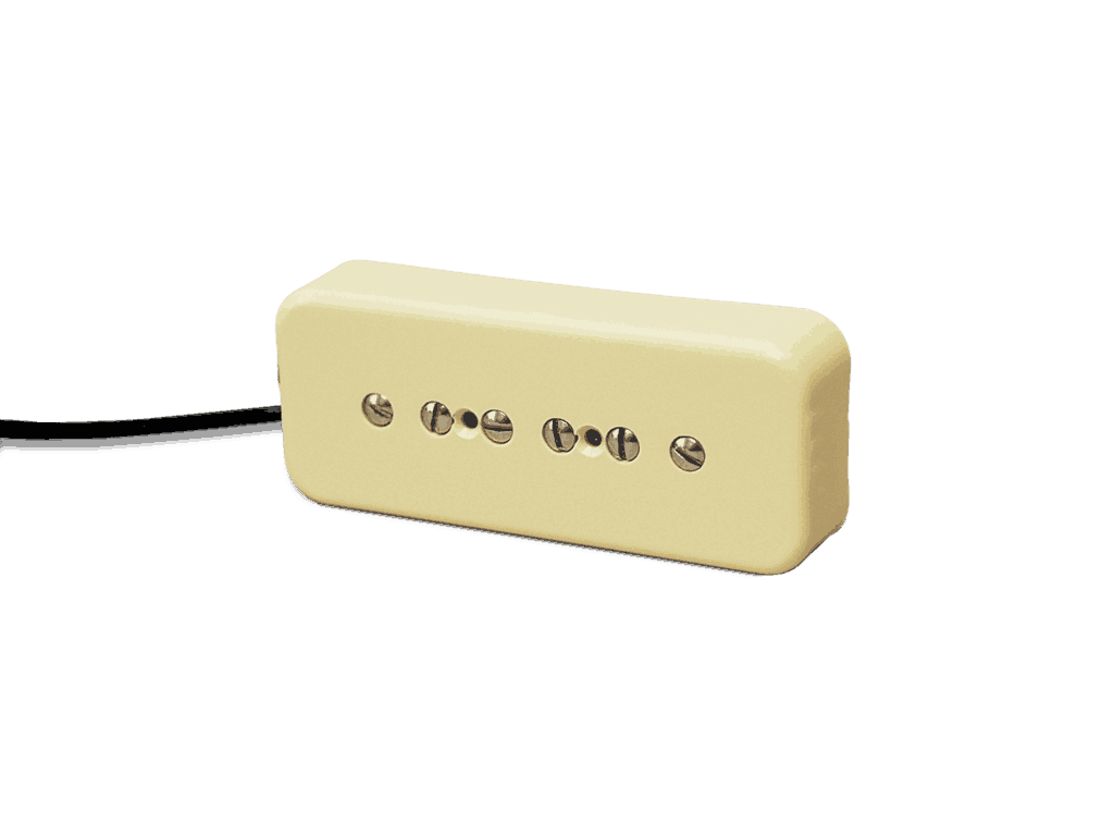 Fralin P90 Pickups Big Bold Tone From Vintage To Modern Gibson Humbucker Wiring Diagram R 90 Lindy Soapbar Cream