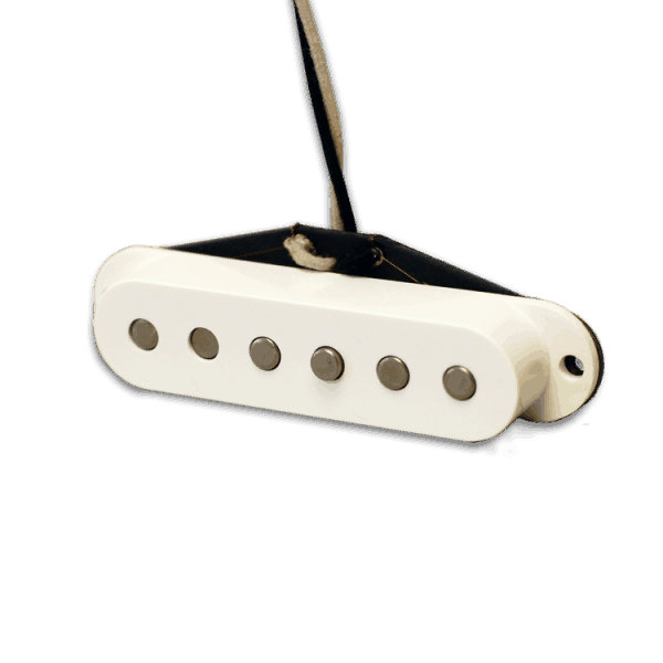 Lindy Fralin Strat Pickup White