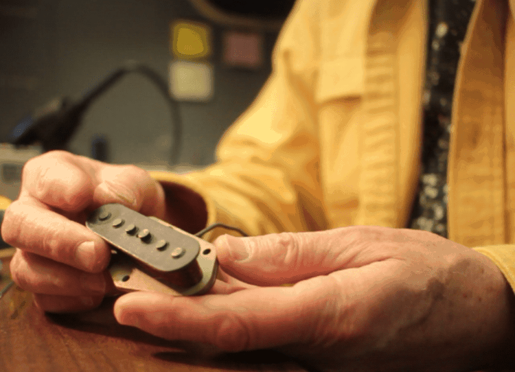 Lindy Fralin Rewinds a 1967 Tele Bridge Pickup