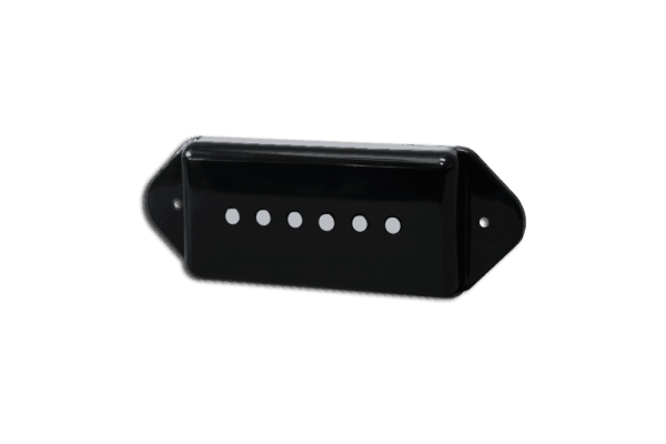 Fralin Pickups Dogear Alnico Rod Black