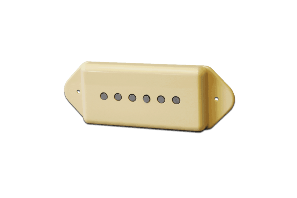 Fralin Pickups Dogear Alnico Rod Cream