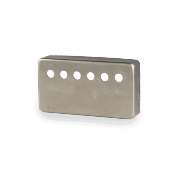 Lindy Fralin Raw Nickel Humbucker Cover