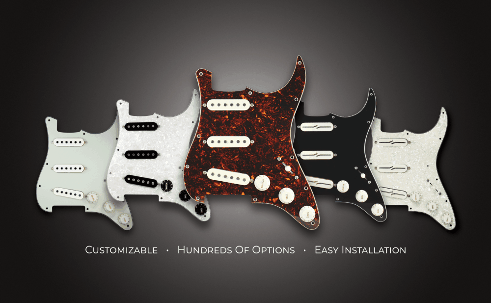 Lindy Fralin Preloaded Pickguards