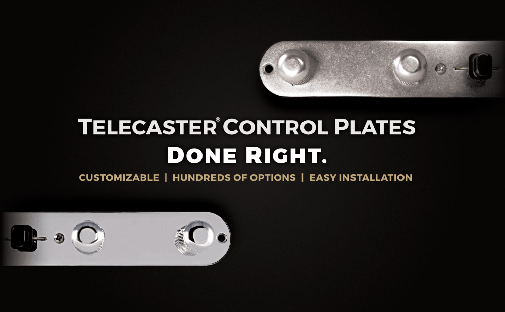 Telecaster Control Plate - Lindy Fralin