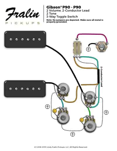 lindy fralin wiring diagrams guitar and bass wiring diagrams double humbucker wiring