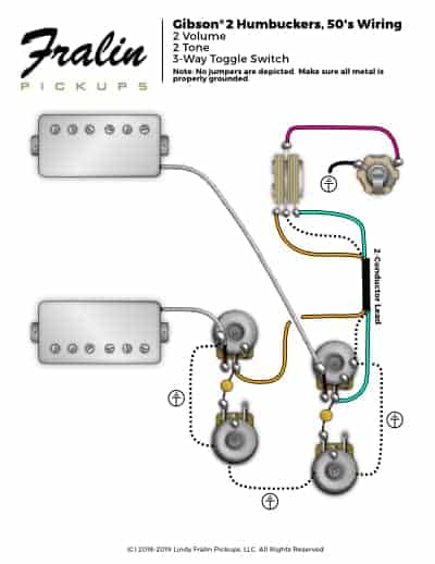 gibson wiring diagram 50 s wiring diagram schematicslindy fralin wiring  diagrams guitar and bass wiring diagrams