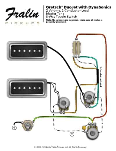 DuoJet-with-Dynasonics  Conductor Wiring Diagram Les Paul on dual humbucker, michael green, three-way two pickups, pre-soldered split coil, active pickups, vintage paf, seymour duncan gibson, lollar humbucker pickup into, for epiphone,