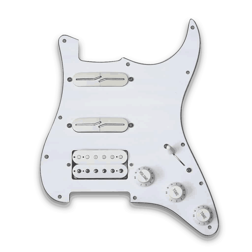 Lindy Fralin Customizable Prewired Hss Split Blade Strat Pickguard Way Switch 500k Pots Knobs Wiring Harness For Guitar Sale Post Navigation