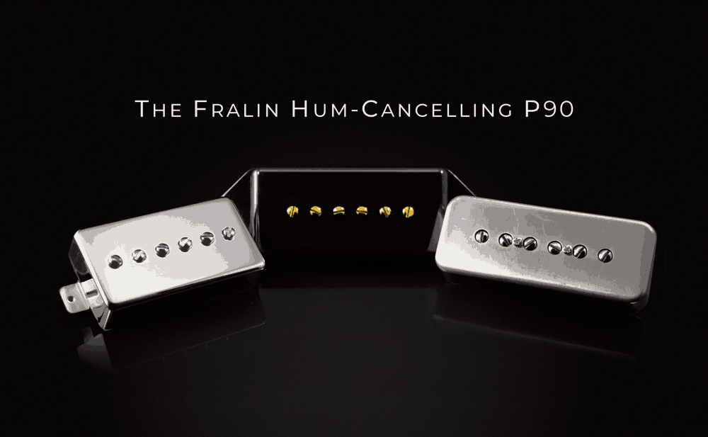 Hum-Cancelling P90 Fralin Pickups