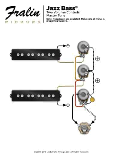 Jazz Bass Wiring Diagram Fralin Pickups
