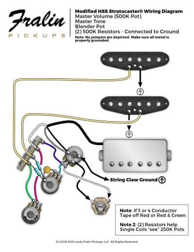 Lindy Fralin Wiring Diagrams - Guitar And B Wiring Diagrams on
