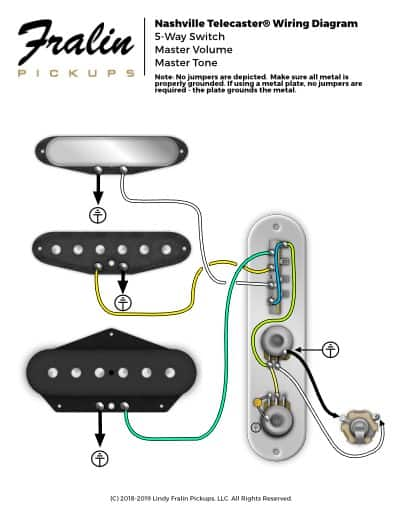 [DIAGRAM_3ER]  Wiring Diagrams by Lindy Fralin - Guitar And Bass Wiring Diagrams | Deluxe Telecaster Wiring Diagram |  | Fralin Pickups