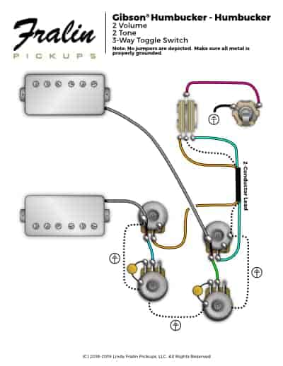 Gibson Les Paul Wiring Diagram Fralin Pickups