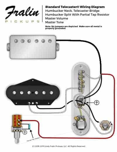 Humbucker Pickup Wiring Diagram from www.fralinpickups.com