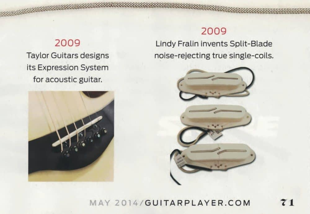 Guitar Player Fralin Pickups Innovation Article