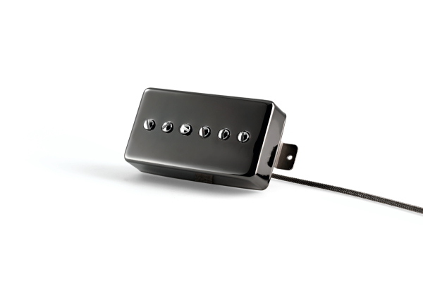 Jet Black Chrome Humbucker P90 Cover