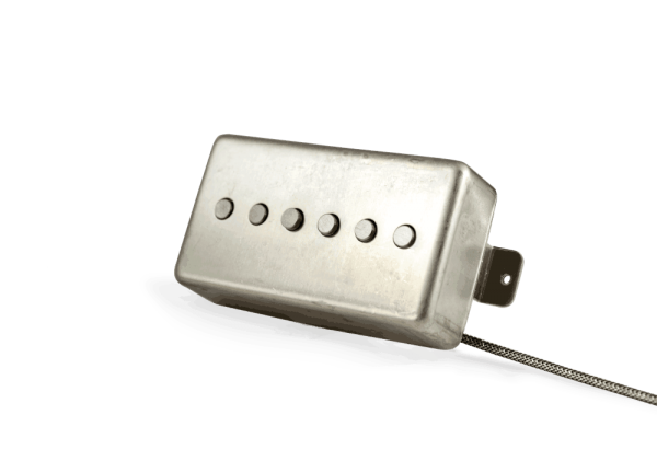 Alnico Noiseless P90 Humbucker Raw NIckel