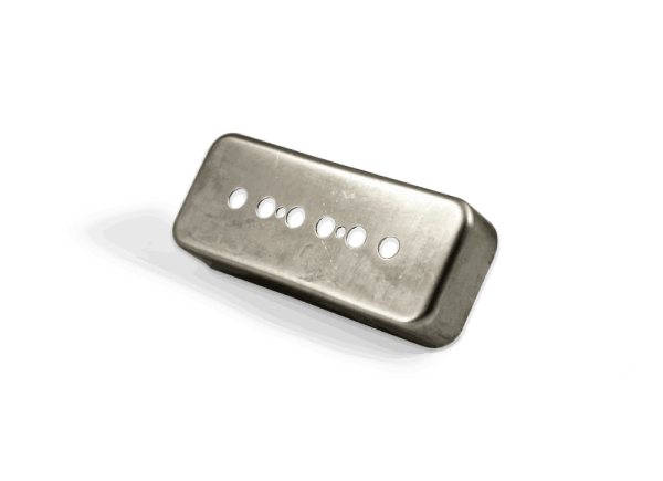 Lindy Fralin P90 Soapbar Cover Raw Nickel