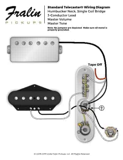 [GJFJ_338]  Wiring Diagrams by Lindy Fralin - Guitar And Bass Wiring Diagrams | 3 Conductor Humbucker Pickup Wiring Diagram |  | Fralin Pickups