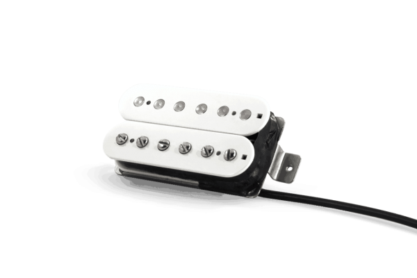 Double White Humbucker Fralin Pickups