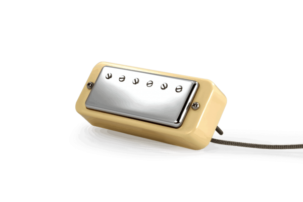 Fralin Mini Humbucker Pickups In A Soapbar Surround - Cream