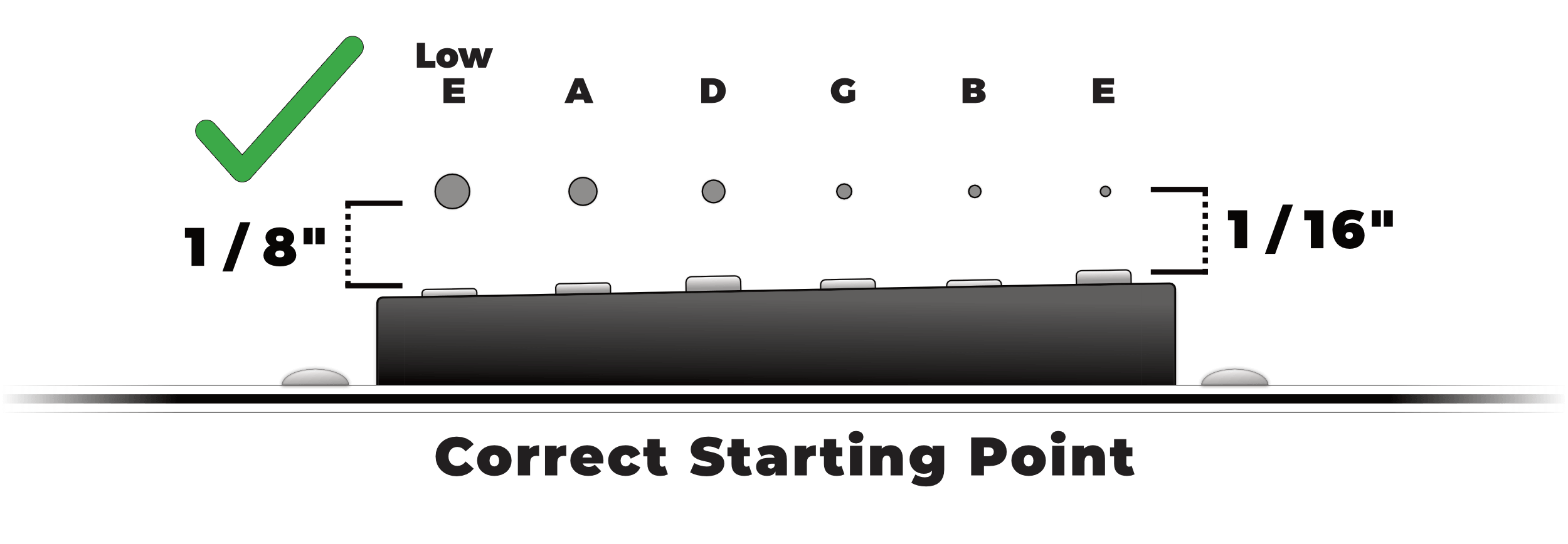 Correct Pickup Height Starting Point
