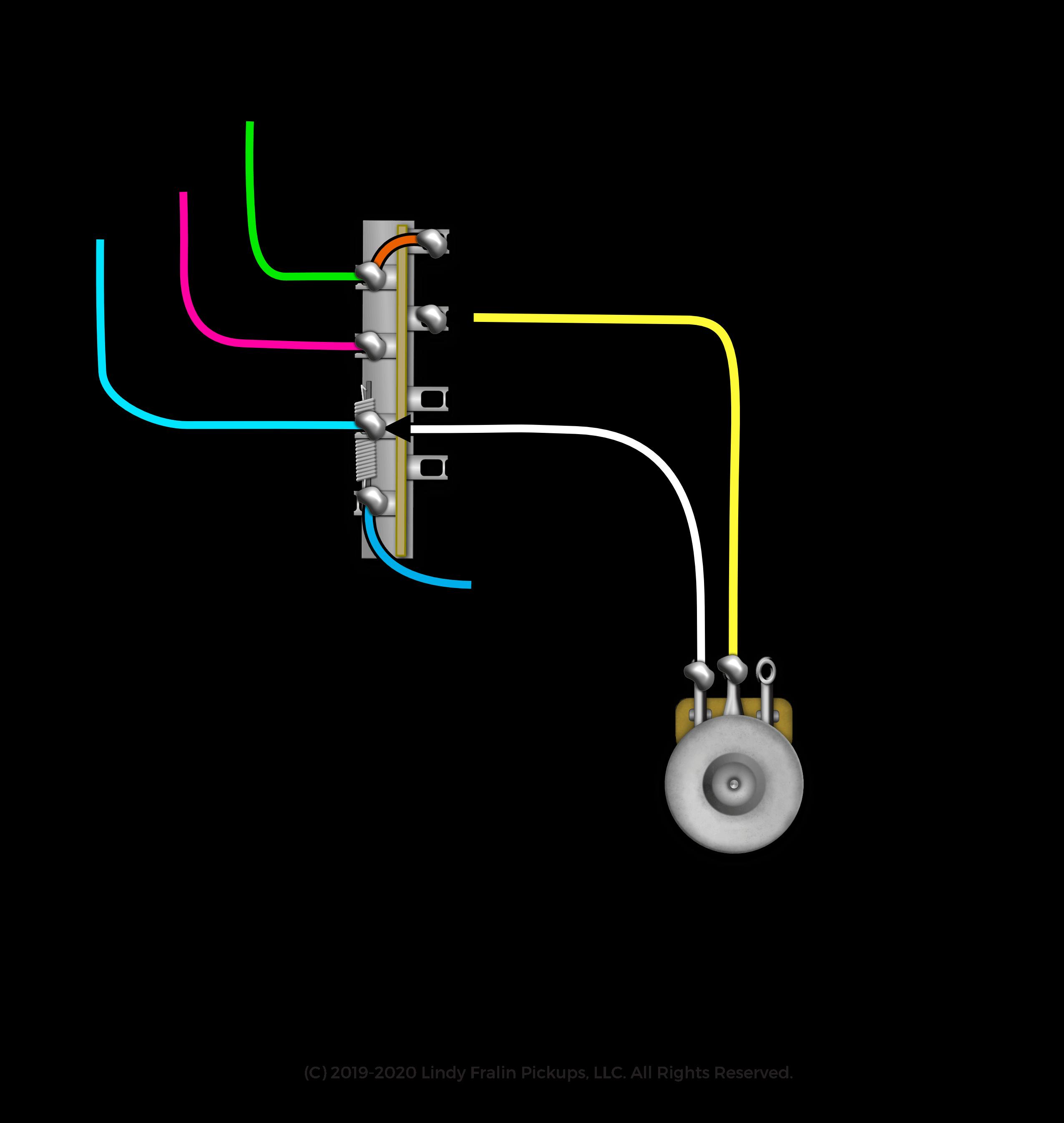 Half Blender Wiring Diagram Fralin Pickups
